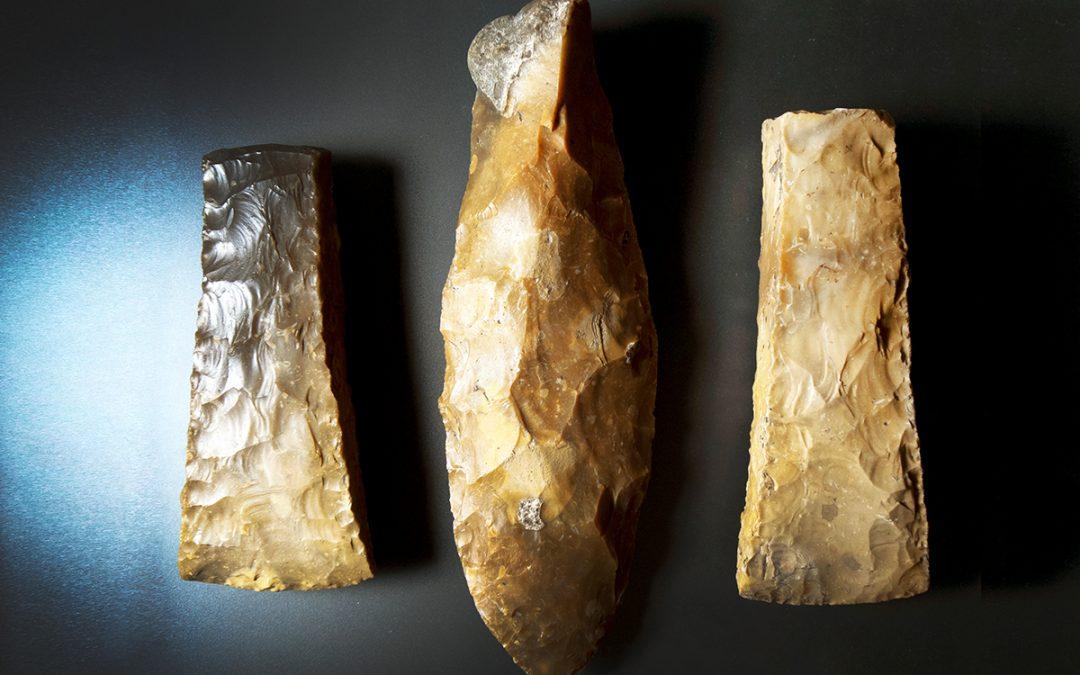 Sjældent fund afspejler store forandringer i stenalderen